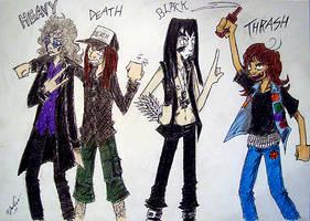 wery metal metal genres by the-ChooK