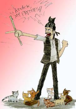 The Crazy Cat gentleman....