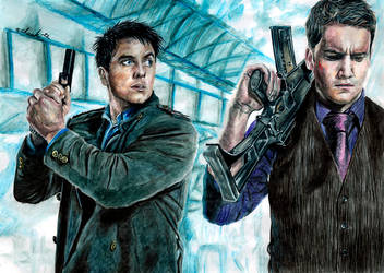 Torchwood - Jack and Ianto by the-ChooK