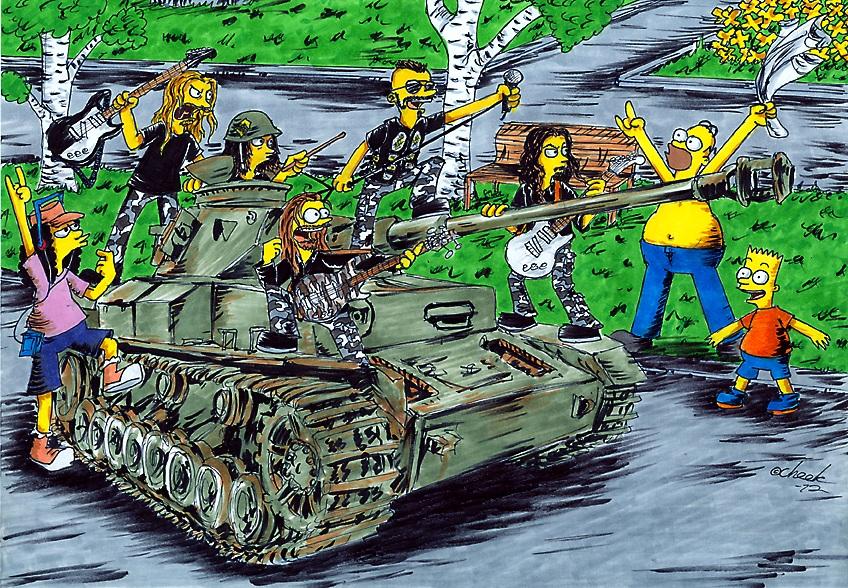 Sabaton Springfield Invasion By The Chook On Deviantart