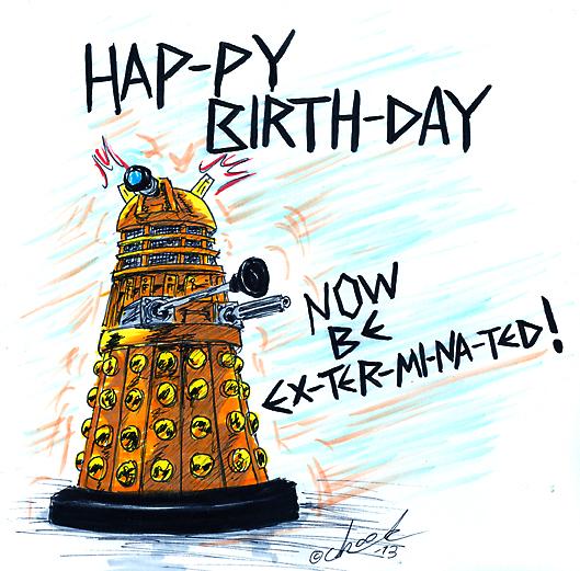 Dr Who Birthday Card gangcraftnet – Dr Who Birthday Card