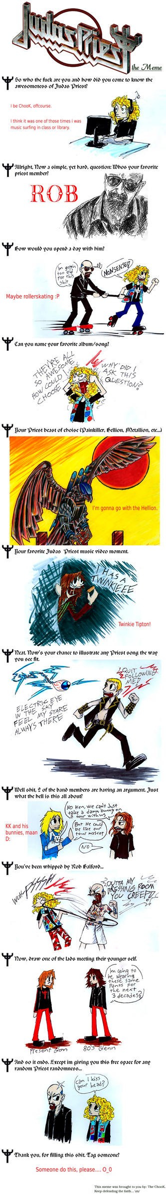 Judas Priest meme. by the-ChooK