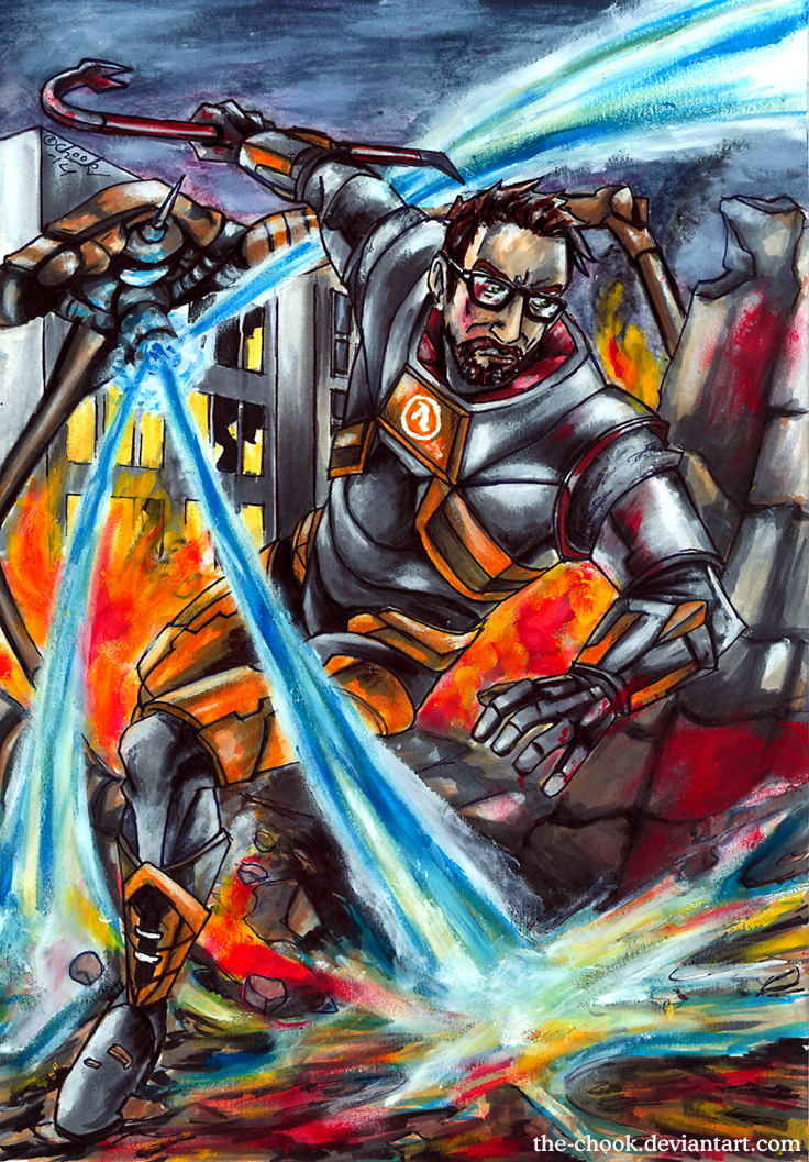 Half life 2 by the-ChooK
