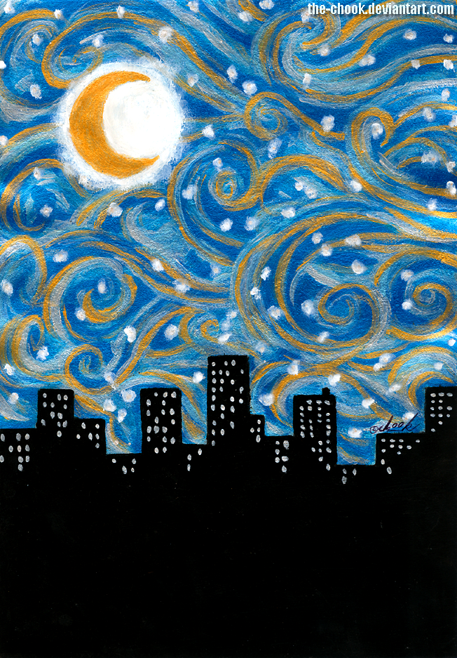 Starry night by the-ChooK