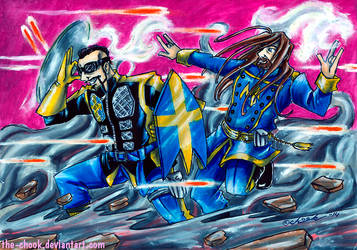 Sabaton [Super]Heroes by the-ChooK