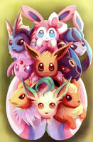 Eeveelution by ThaIssing