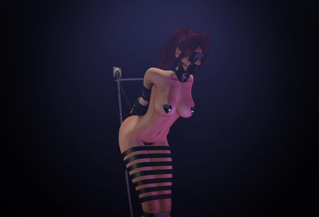 Just a helpless bondage doll by ShayFinchy