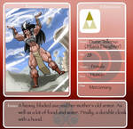 Titan's Daughter (Diane's Application)