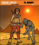 Drawlloween 2015 - Mummy