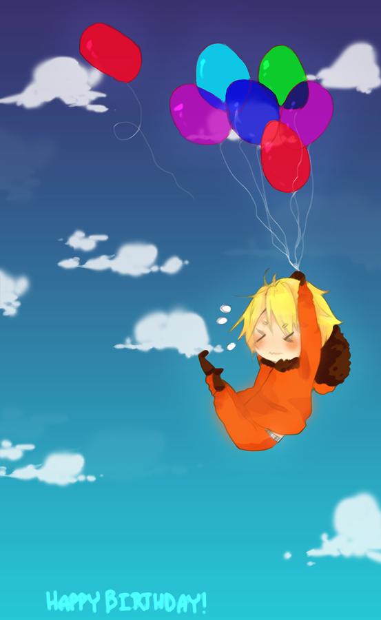 happy bday by FanOfAmericanCartoon