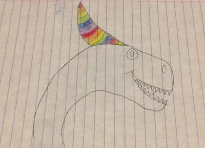 Rainbow Horns  by JonyTheDragon