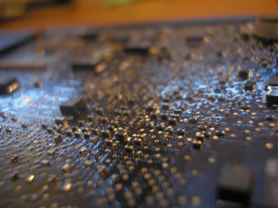 MacBook Pro motherboard I by Tomasos