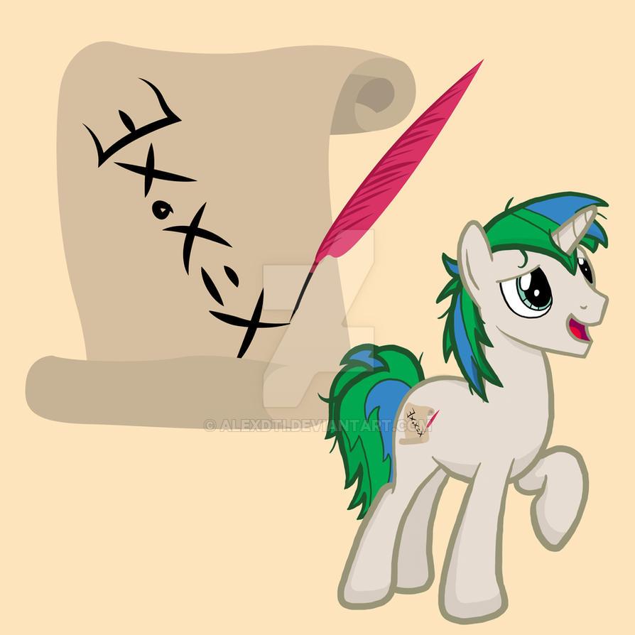 OC my little pony (Gooddwarf commission) by AlexDTI
