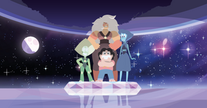 Steven Universe - Inverted Crystal gems  Wallpaper