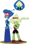 Peridot and Lapis cosplay - Steven Universe