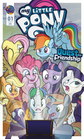 MLP Comic cover - Quest for Friendship