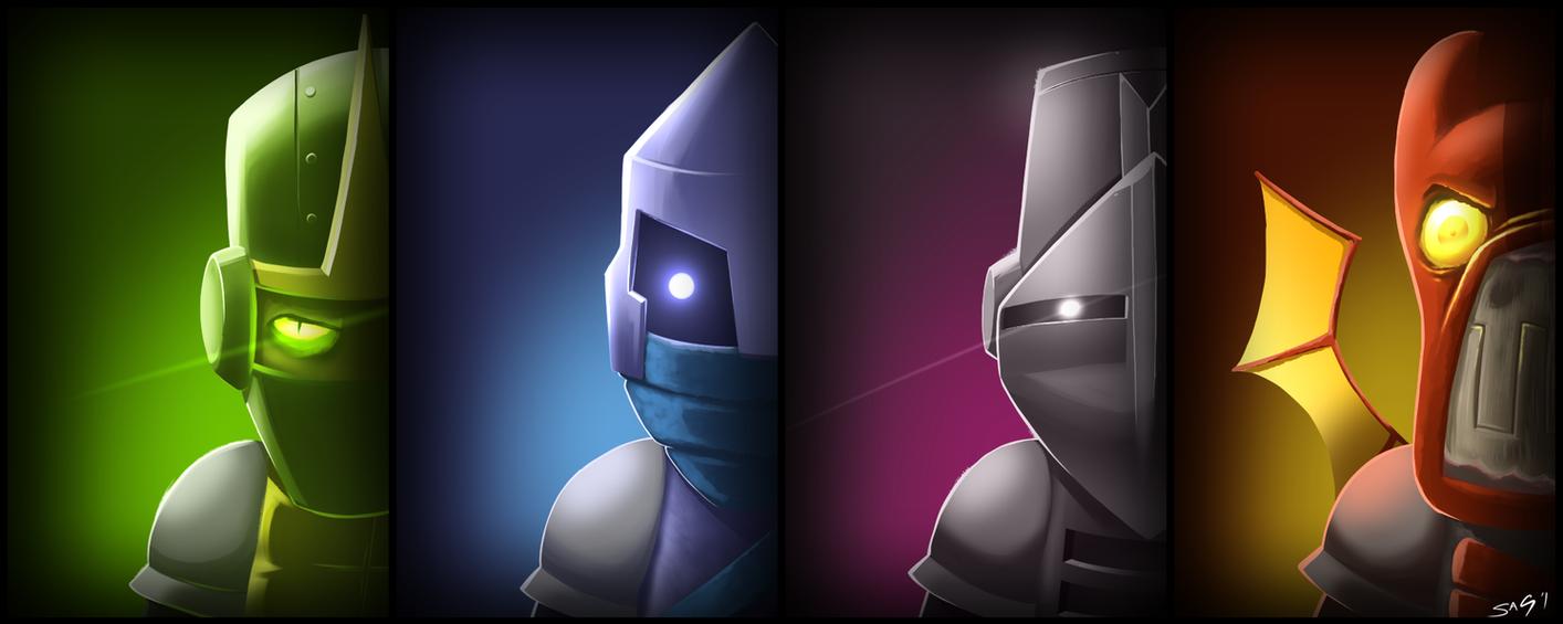Characters by NotYourSagittarius