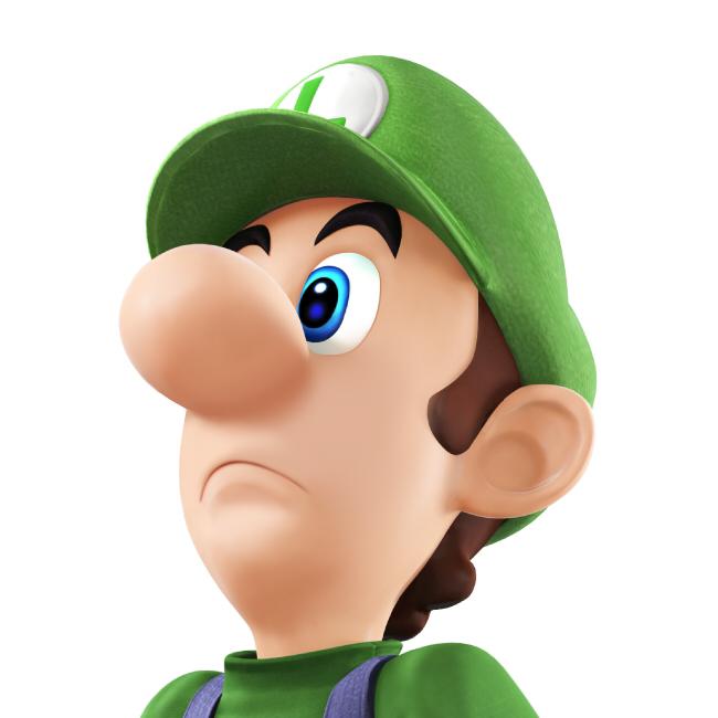 Luigi Without a Mustache by NotYourSagittarius