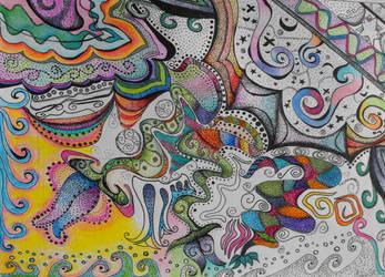 Pointy-lism. by twila