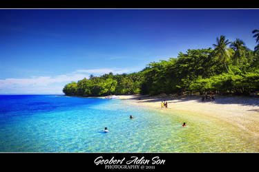 Isla reta by geobertson