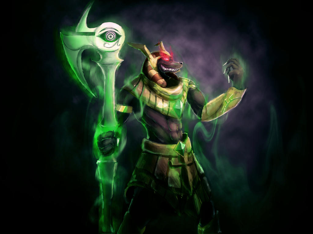 League Of Legends - Nasus by dnoj