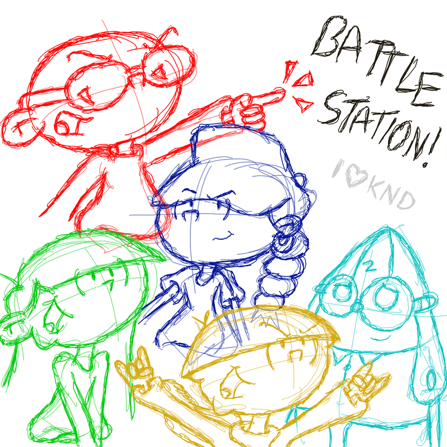 Battle station doodle by PinataRock