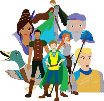 Princely Cast by AJKutabear