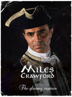 Navy Cpt. Miles Crawford by SolPicador