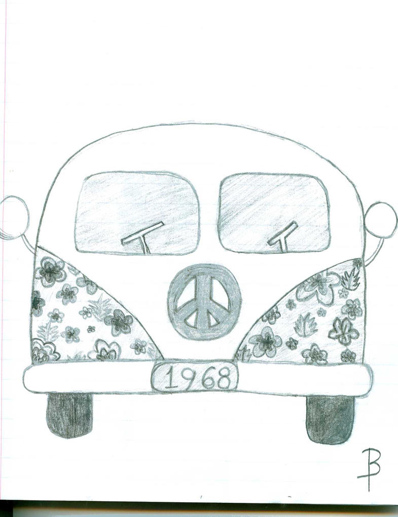 hippie van by becky taylor on deviantart. Black Bedroom Furniture Sets. Home Design Ideas