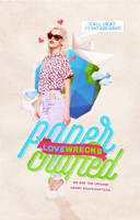 WP Cover 6: Paper Crafted Lovewrecks. by Kellsyy