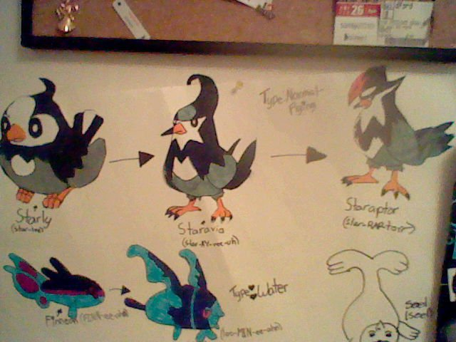 Starly Evolutions by YourMusicOwnsMe on DeviantArt