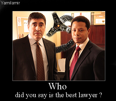 Law and Order Best Lawyer by yamilamir