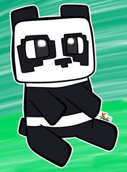 Chibi Panda Minecraft