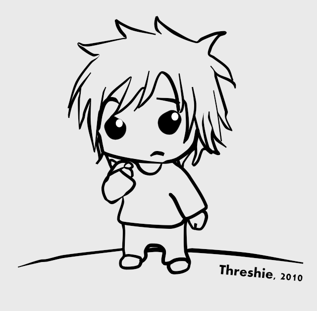 Line Art Studio Serpong : Anime studio chibi by threshie on deviantart