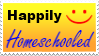 Happily Homeschooled Stamp by Threshie