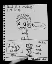 ZOMBIES CAN READ