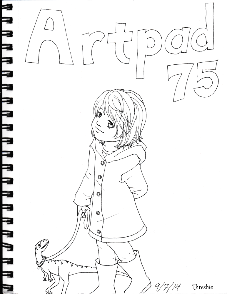 Artpad75 Intro Page by Threshie