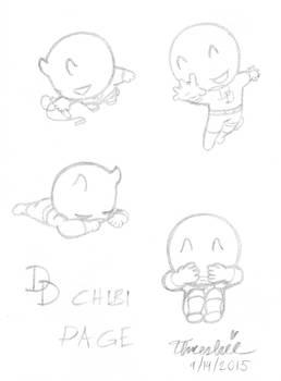 Daredevil - Chibi Page