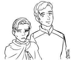 Cartoony Ralph and Simon