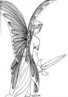 Fairy Warrior by Threshie