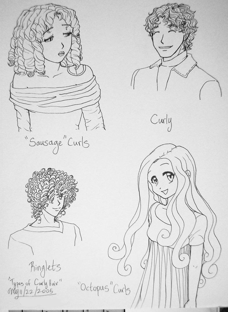 Types of Curly Hair by Threshie on DeviantArt