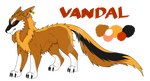 .:CE:. Vandal the Floxair by Orochimizuki