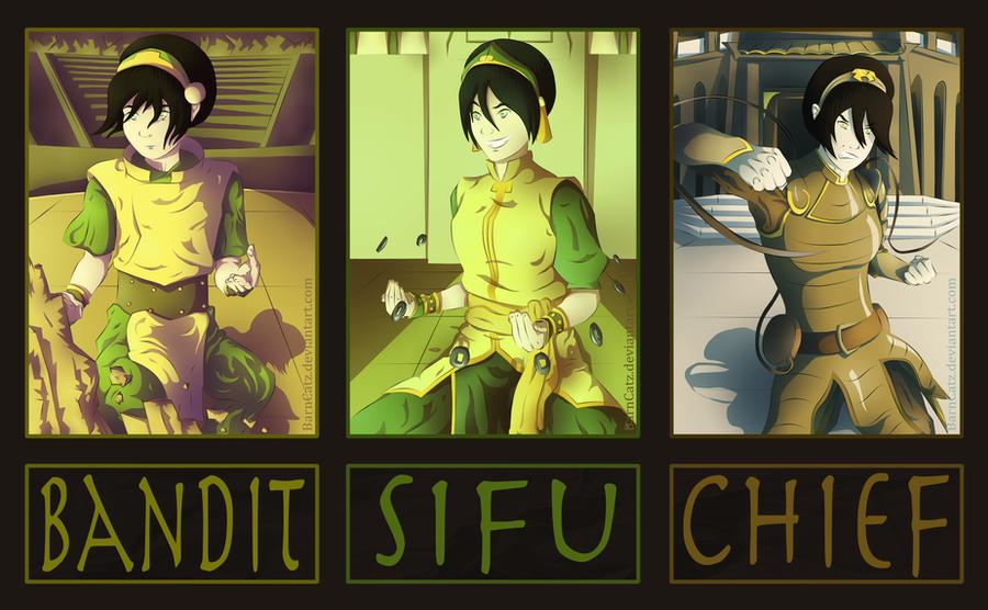 Avatar Evolutions: Toph Bei Fong by BarnCatz