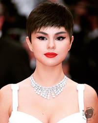 Selena's Pixiecut by BDRomeArt