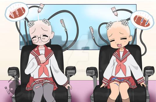 Konata Miyuki Auto-chair P2