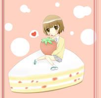 Evette: Strawberry Cake by MokonaTenshi