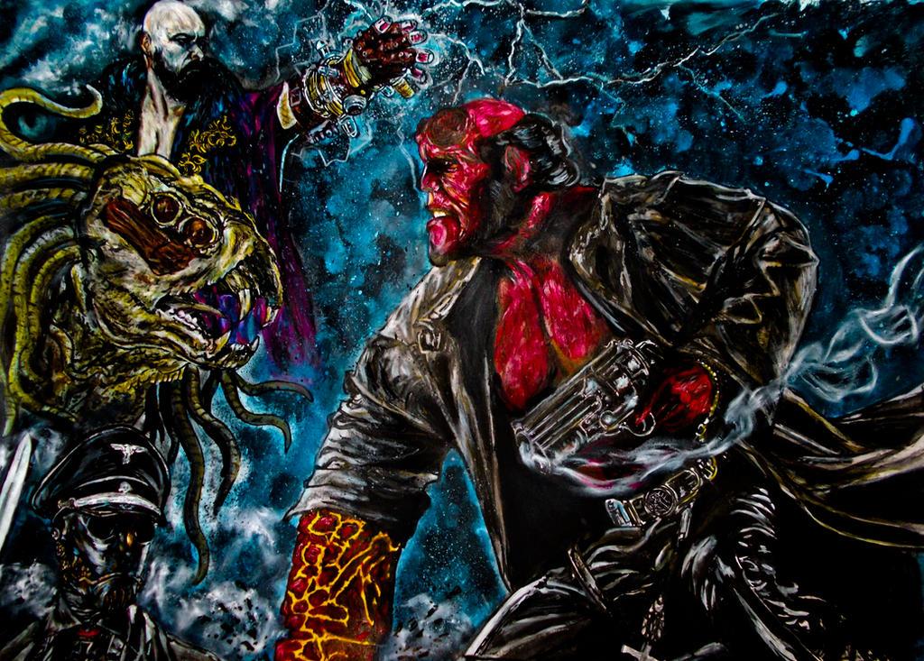 hellboy by FDupain