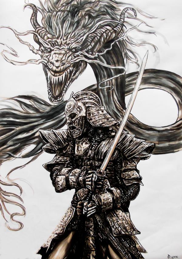 samourai by FDupain