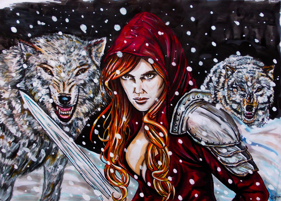 Little Red Riding Hood by FDupain