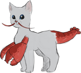Cat + Lobster Fusion